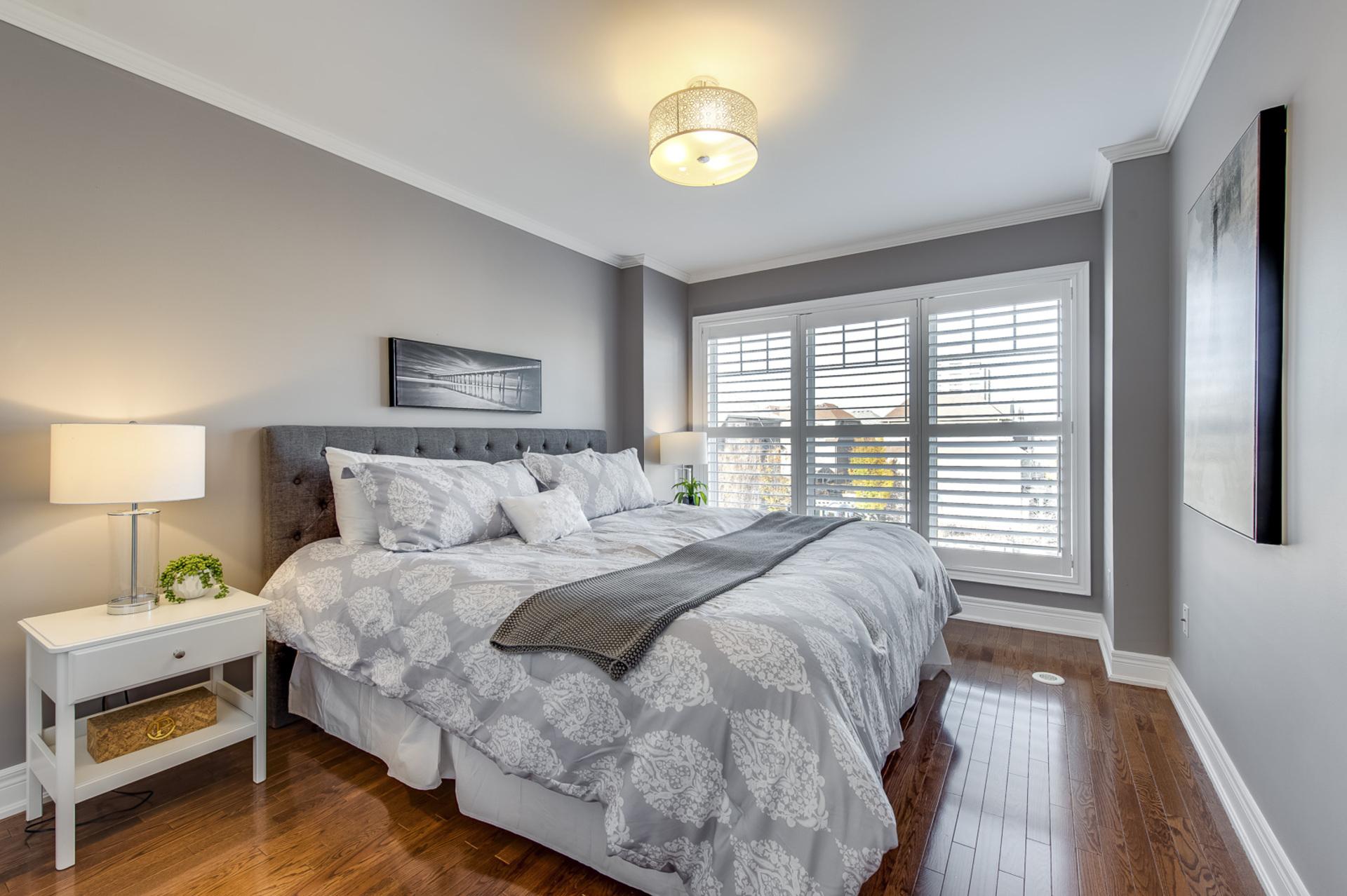 Master Bedroom - 2014 Lushes Ave, Mississauga - Elite3 & Team at 2014 Lushes Avenue, Clarkson, Mississauga