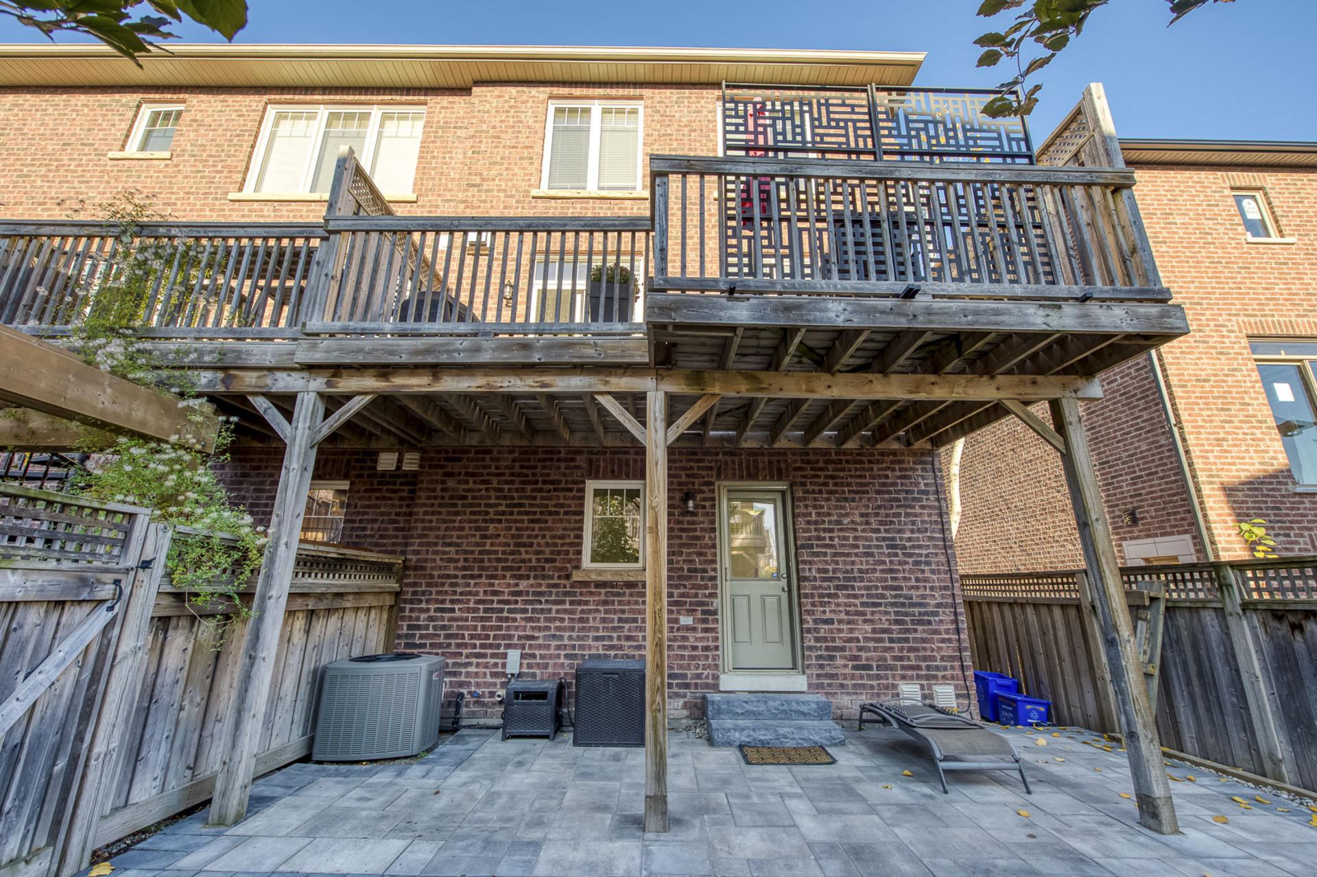 Backyard - 2014 Lushes Ave, Mississauga - Elite3 & Team at 2014 Lushes Avenue, Clarkson, Mississauga