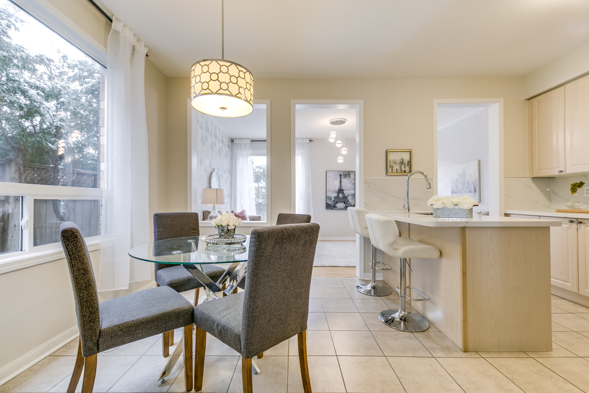 Breakfast Area - 1342 Weir Chase, Mississauga - Elite3 & Team at 1342 Weir Chase, East Credit, Mississauga