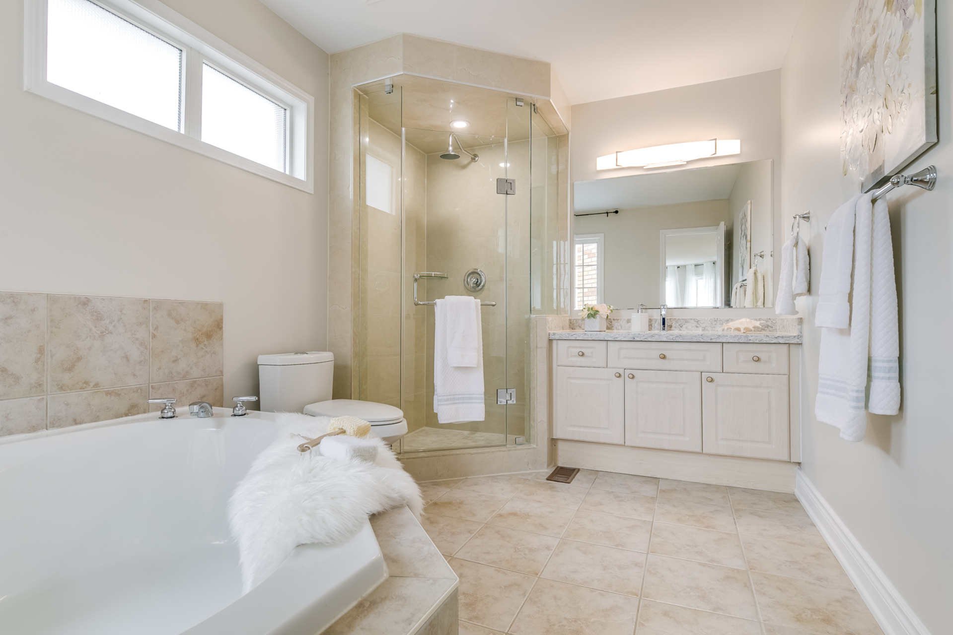 Master Ensuite - 1342 Weir Chase, Mississauga - Elite3 & Team at 1342 Weir Chase, East Credit, Mississauga