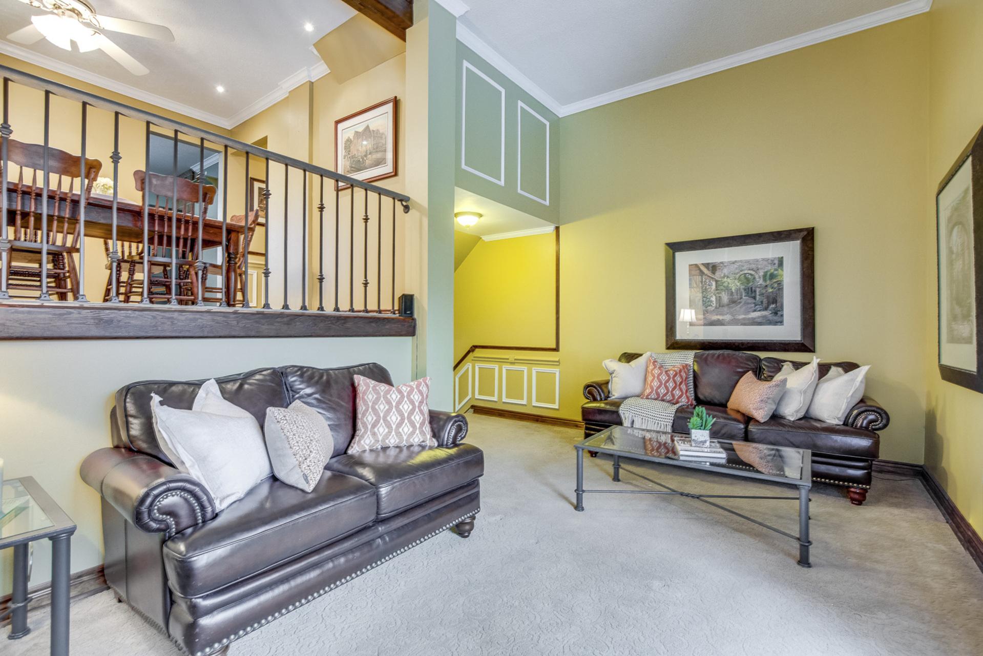 Living Room - 6 Rock Moss Way, North York - Elite3 & Team at 6 Rock Moss Way, Hillcrest Village, Toronto