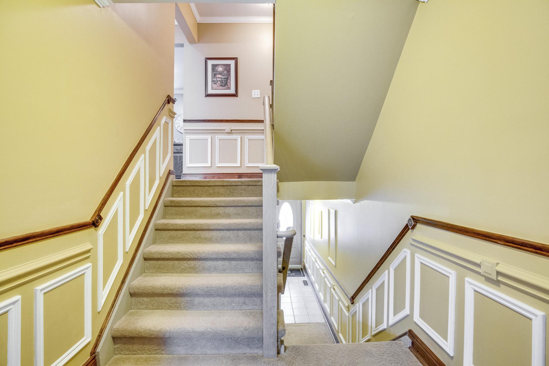 Stairs - 6 Rock Moss Way, North York - Elite3 & Team at 6 Rock Moss Way, Hillcrest Village, Toronto