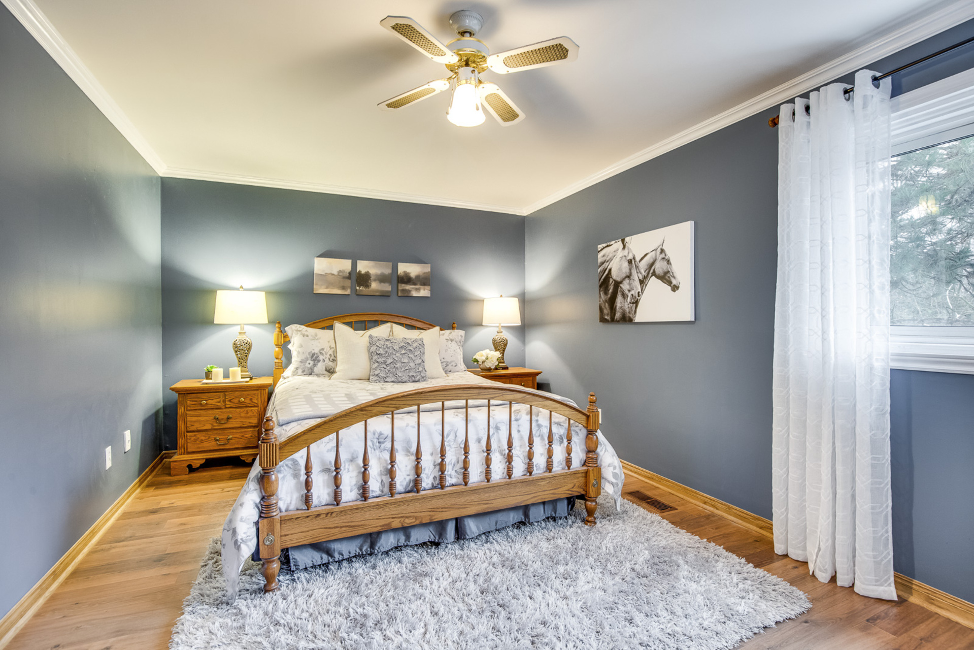 Master Bedroom - 6 Rock Moss Way, North York - Elite3 & Team at 6 Rock Moss Way, Hillcrest Village, Toronto