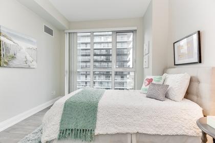 2nd Bedroom - 1107-110 Marine Parade Dr, Etobicoke at 1107 - 110 Marine Parade Drive, Mimico, Toronto
