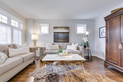 Living Room - 228 Westfield Tr, Oakville - Elite3 & Team at 228 Westfield Trail, River Oaks, Oakville