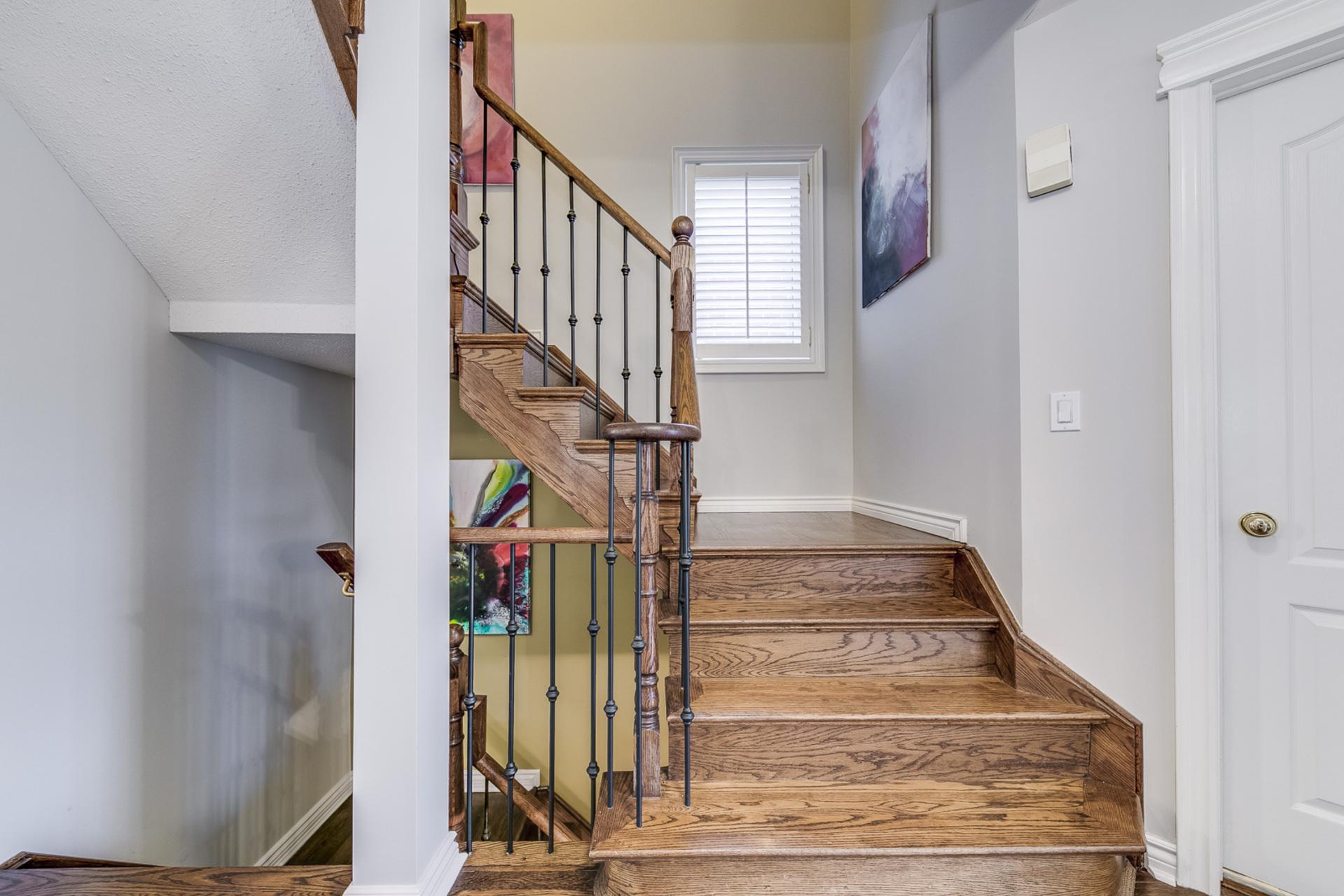Stairs - 228 Westfield Tr, Oakville - Elite3 & Team at 228 Westfield Trail, River Oaks, Oakville