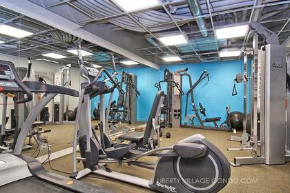 Gym - 1512-150 Sudbury St, Toronto - Elite3 & Team at 1512 - 150 Sudbury Street, Little Portugal, Toronto