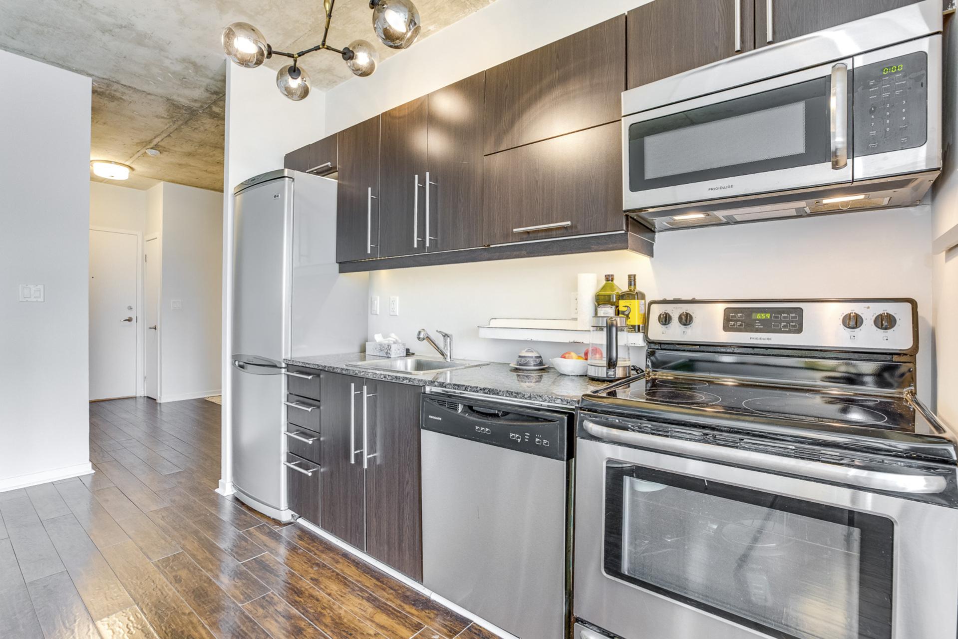 Kitchen - 1512-150 Sudbury St, Toronto - Elite3 & Team at 1512 - 150 Sudbury Street, Little Portugal, Toronto