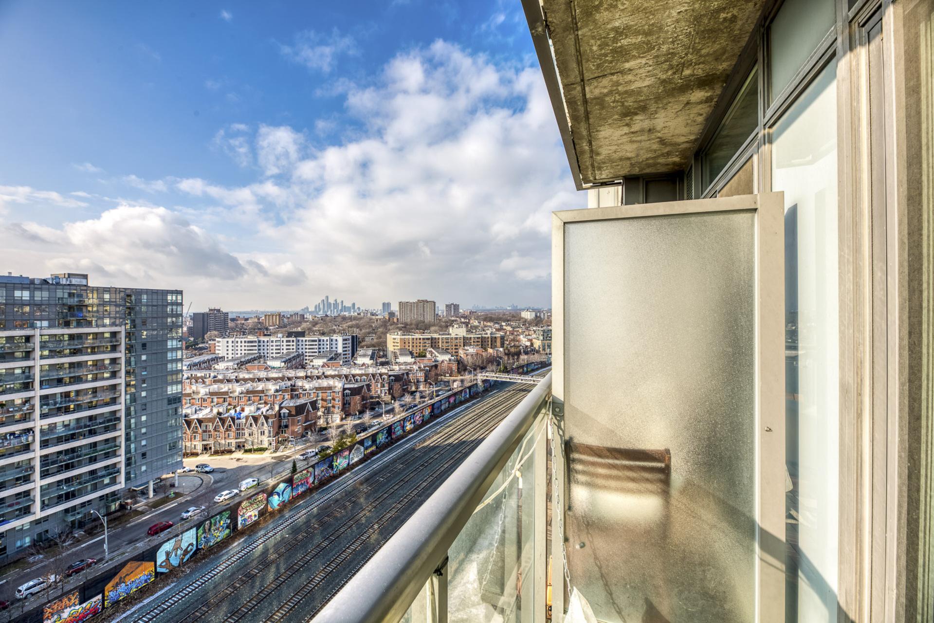 Balcony - 1512-150 Sudbury St, Toronto - Elite3 & Team at 1512 - 150 Sudbury Street, Little Portugal, Toronto