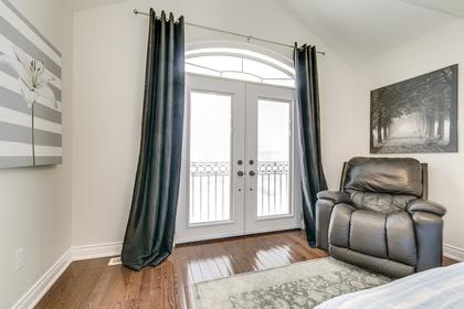 2nd Master Bedroom - 2473 Tesla Cres, Oakville - Elite3 & Team at 2473 Tesla Crescent, Iroquois Ridge North, Oakville