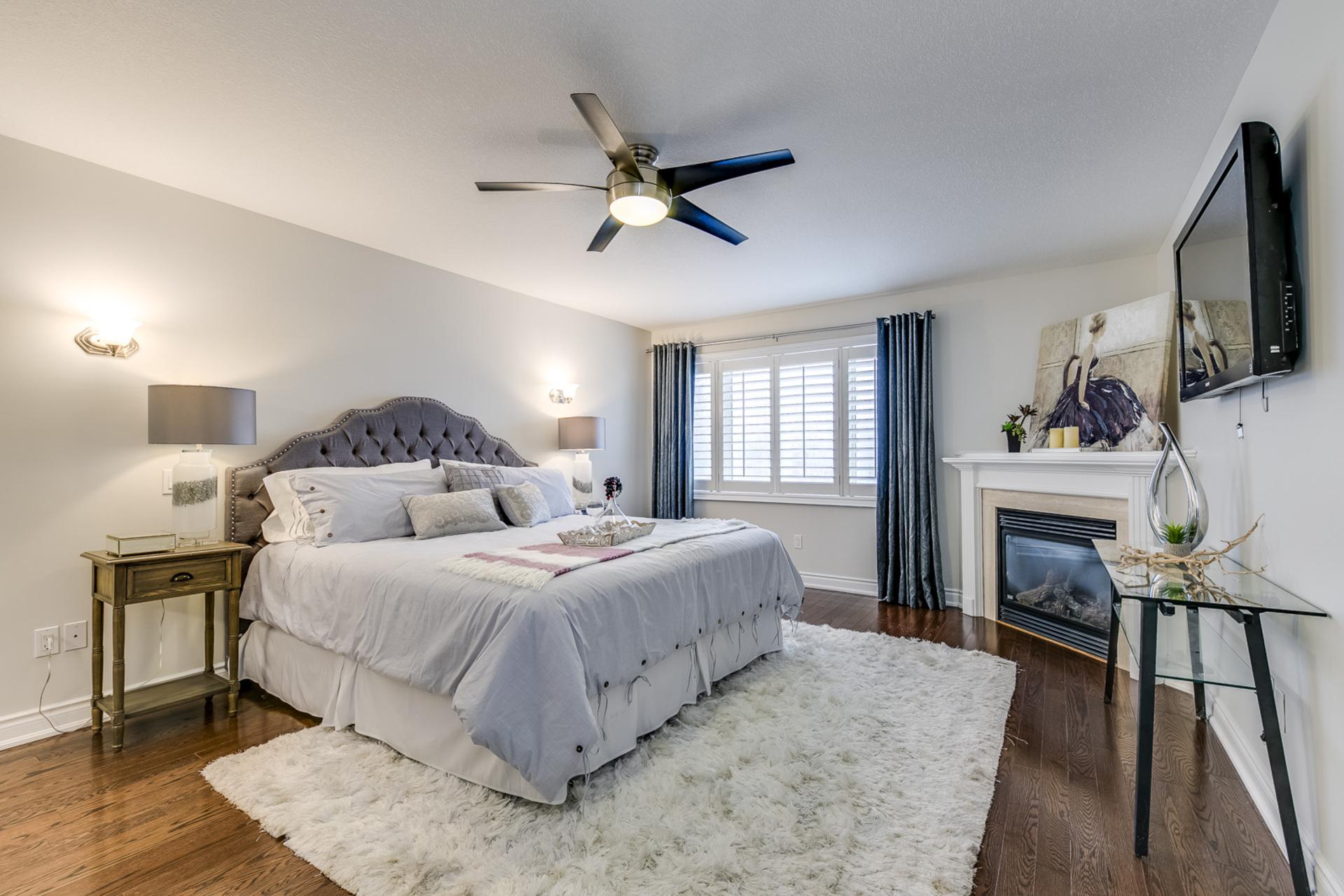 Master Bedroom - 2473 Tesla Cres, Oakville - Elite3 & Team at 2473 Tesla Crescent, Iroquois Ridge North, Oakville