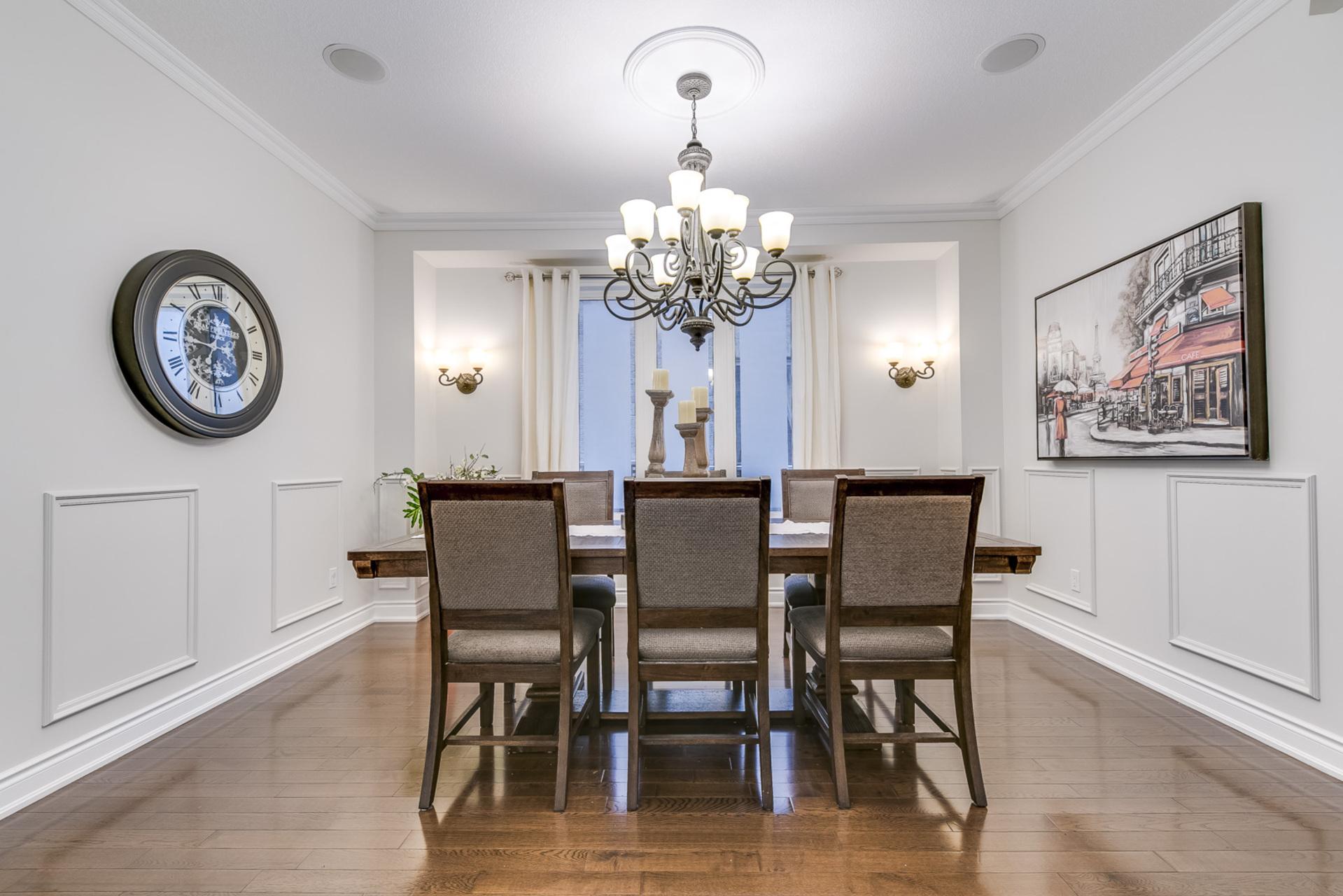 Dining Room - 2473 Tesla Cres, Oakville - Elite3 & Team at 2473 Tesla Crescent, Iroquois Ridge North, Oakville