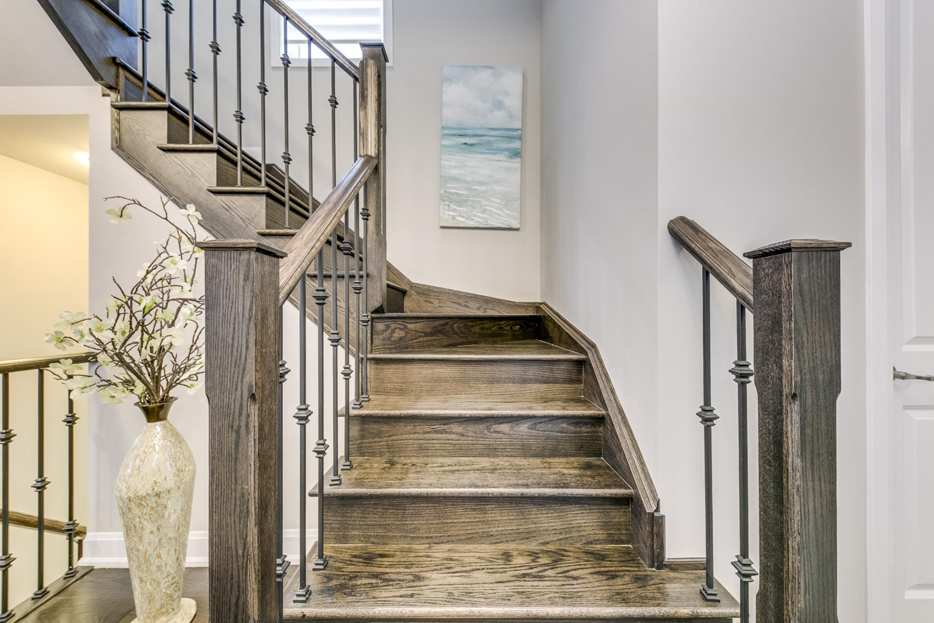 Stairs - 379 Begonia Gardens, Oakville - Elite3 & Team at 379 Begonia Gardens, Rural Oakville, Oakville