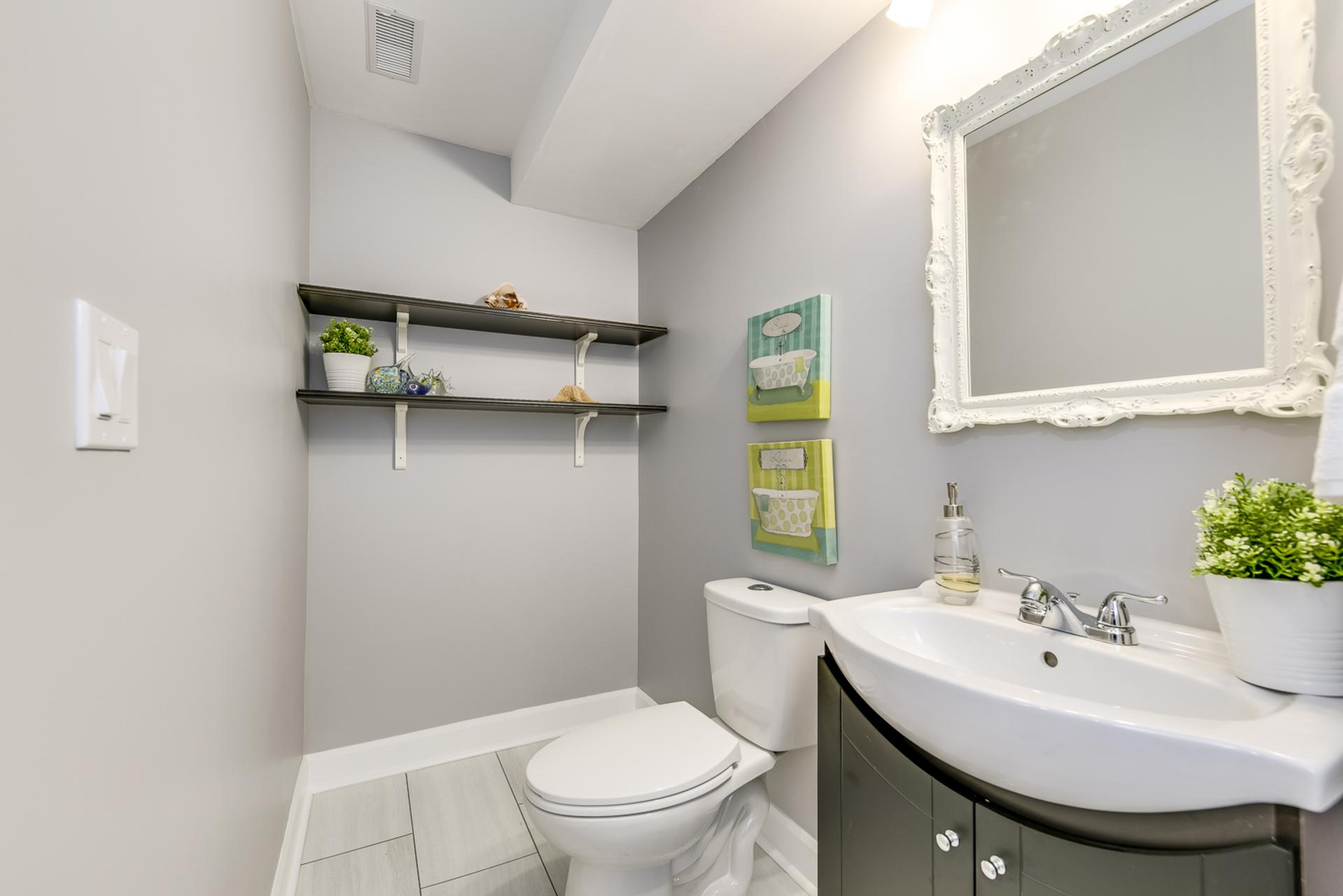 Basement Bathroom - 379 Begonia Gardens, Oakville - Elite3 & Team at 379 Begonia Gardens, Rural Oakville, Oakville