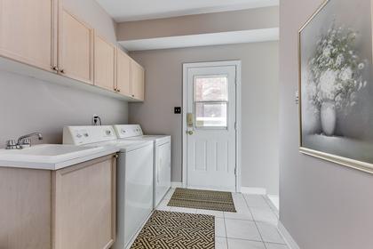 Laundry/Mud Room - 1471 Creekwood Tr, Oakville - Elite3 & Team at 1471 Creekwood Trail, Iroquois Ridge North, Oakville