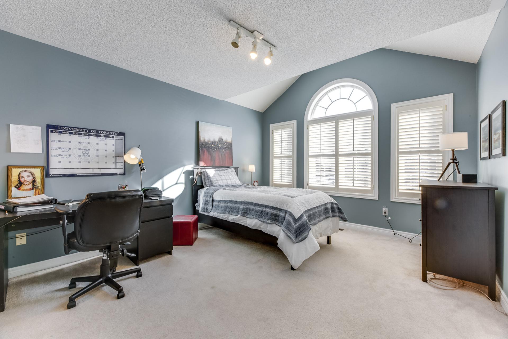 3rd Bedroom - 1471 Creekwood Tr, Oakville - Elite3 & Team at 1471 Creekwood Trail, Iroquois Ridge North, Oakville