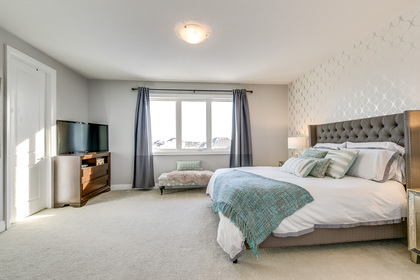 Master Bedroom - 166 Mcwilliams Cres, Oakville - Elite3 & Team at 166 Mcwilliams Crescent, Rural Oakville, Oakville