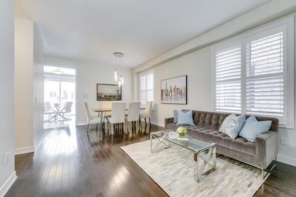 Living Room - 31 Beacon Point St,  Markham - Elite3 & Team at 31 Beacon Point Street, Wismer, Markham