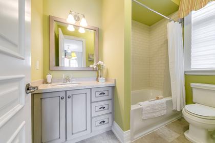 3rd Bedroom Ensuite - 725 Queensway W, Mississauga - Elite3 & Team at 725 Queensway West, Erindale, Mississauga