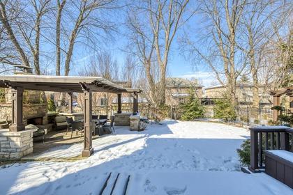 Backyard - 725 Queensway W, Mississauga - Elite3 & Team at 725 Queensway West, Erindale, Mississauga