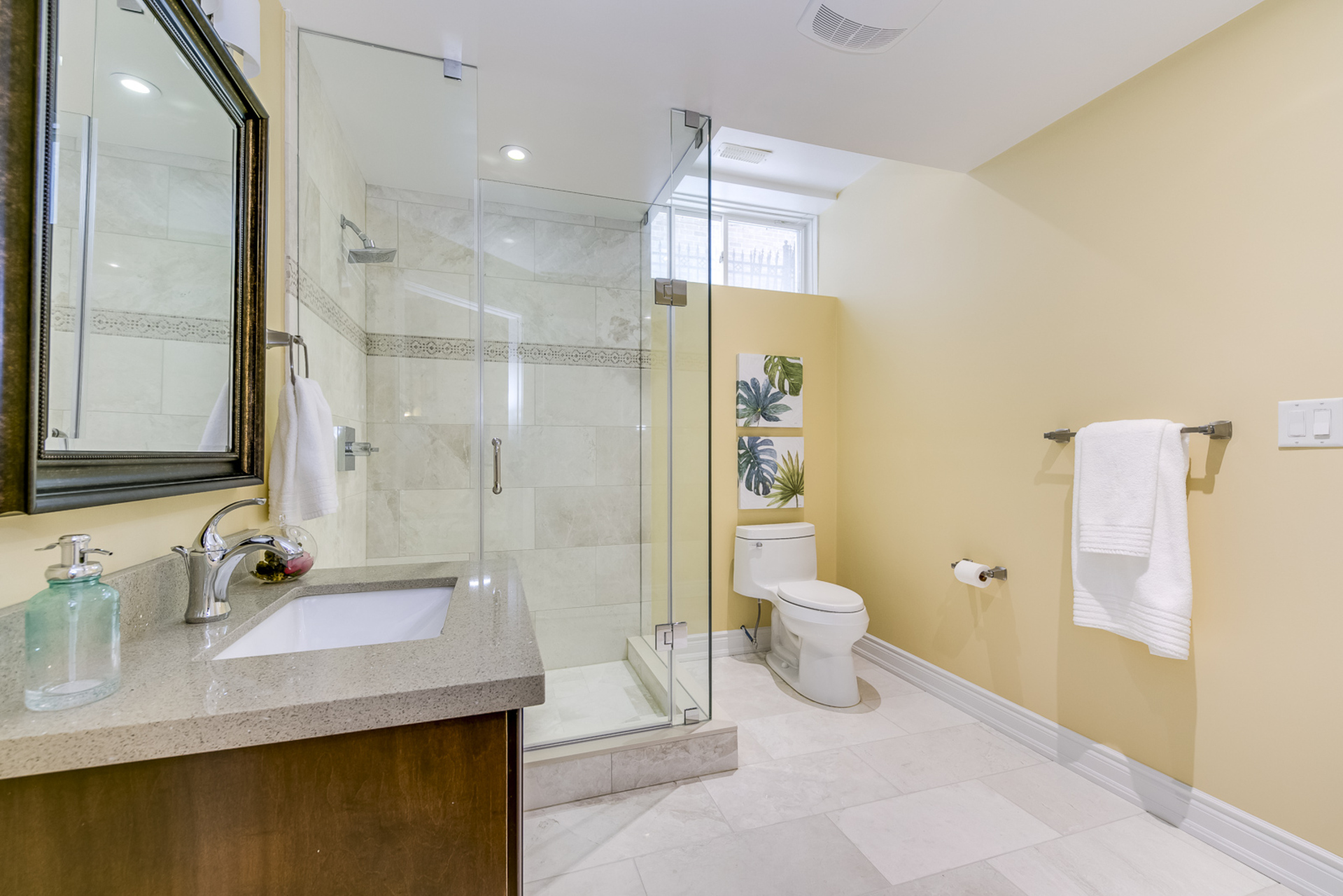 Basement Bathroom - 725 Queensway W, Mississauga - Elite3 & Team at 725 Queensway West, Erindale, Mississauga