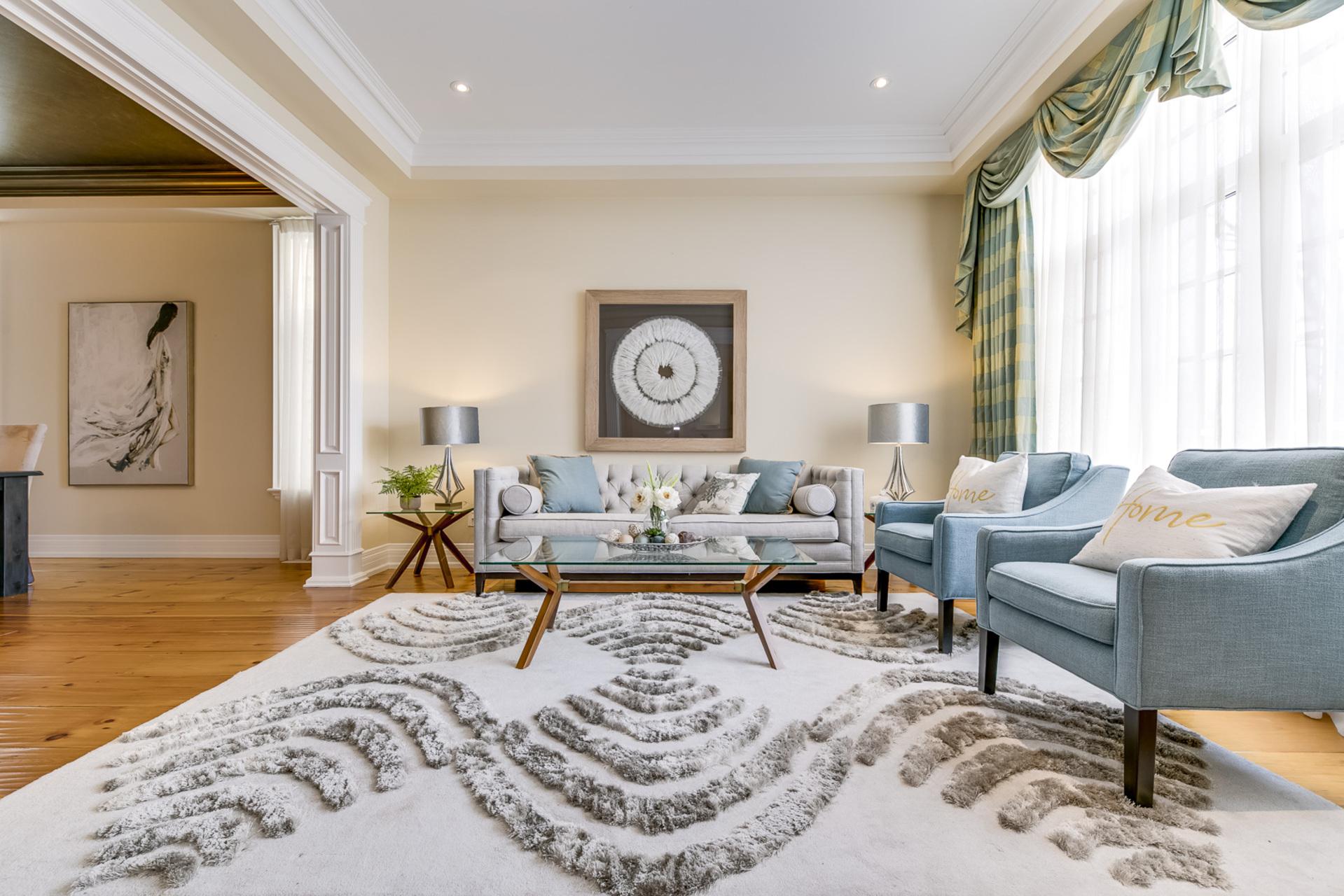 Living Room - 725 Queensway W, Mississauga - Elite3 & Team at 725 Queensway West, Erindale, Mississauga