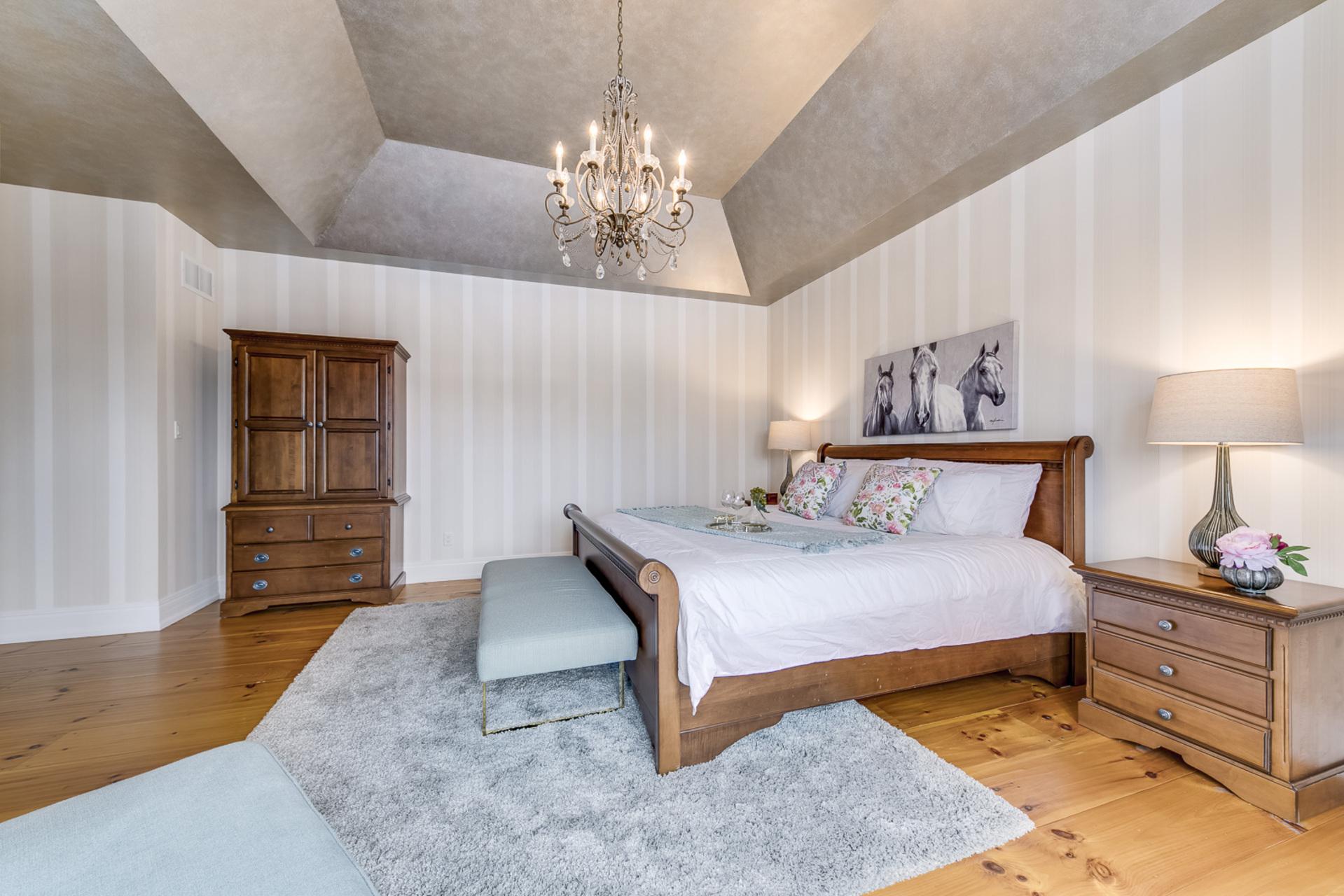 Master Bedroom - 725 Queensway W, Mississauga - Elite3 & Team at 725 Queensway West, Erindale, Mississauga
