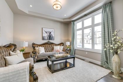 Living Room - 73 North Park Blvd, Oakville - Elite3 & Team at 73 North Park Boulevard, Rural Oakville, Oakville