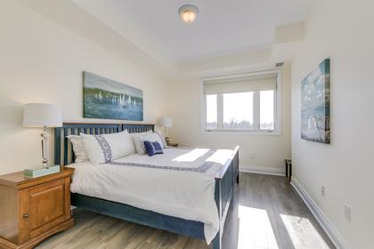 Master Bedroom - 411 - 128 Garden Dr, Oakville - Elite3 & Team at 411 - 128 Garden Drive, Old Oakville, Oakville