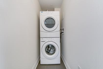 Ensuite Laundry - 411 - 128 Garden Dr, Oakville - Elite3 & Team at 411 - 128 Garden Drive, Old Oakville, Oakville