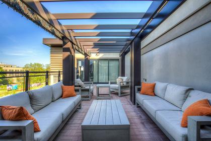 Rooftop Terrace - 411 - 128 Garden Dr, Oakville - Elite3 & Team at 411 - 128 Garden Drive, Old Oakville, Oakville