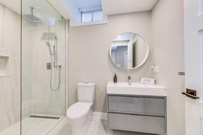 Basement Bathroom - 2419 Sylvia Dr, Oakville - Elite3 & Team at 2419 Sylvia Drive, Iroquois Ridge North, Oakville