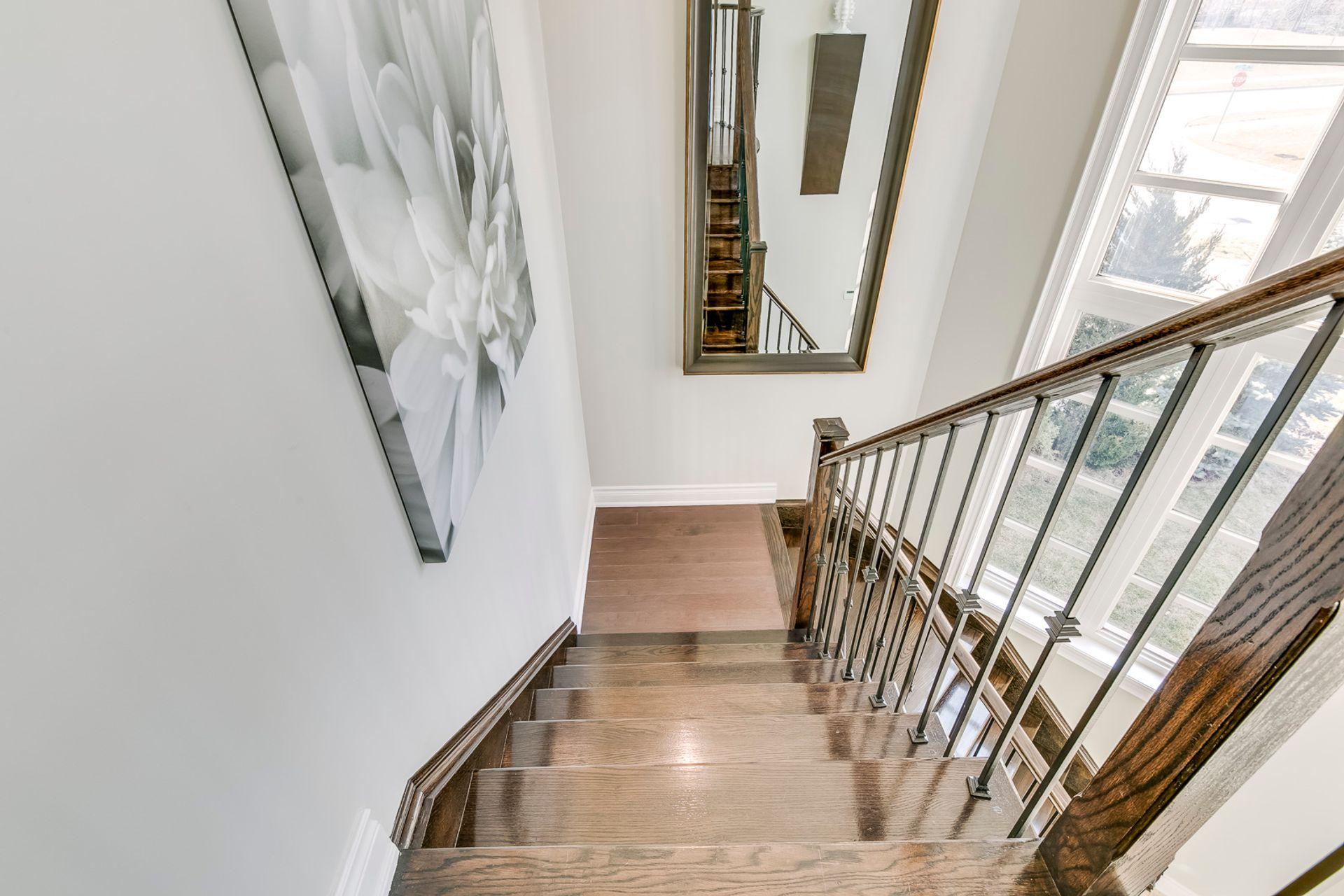 Staircase - 2419 Sylvia Dr, Oakville - Elite3 & Team at 2419 Sylvia Drive, Iroquois Ridge North, Oakville