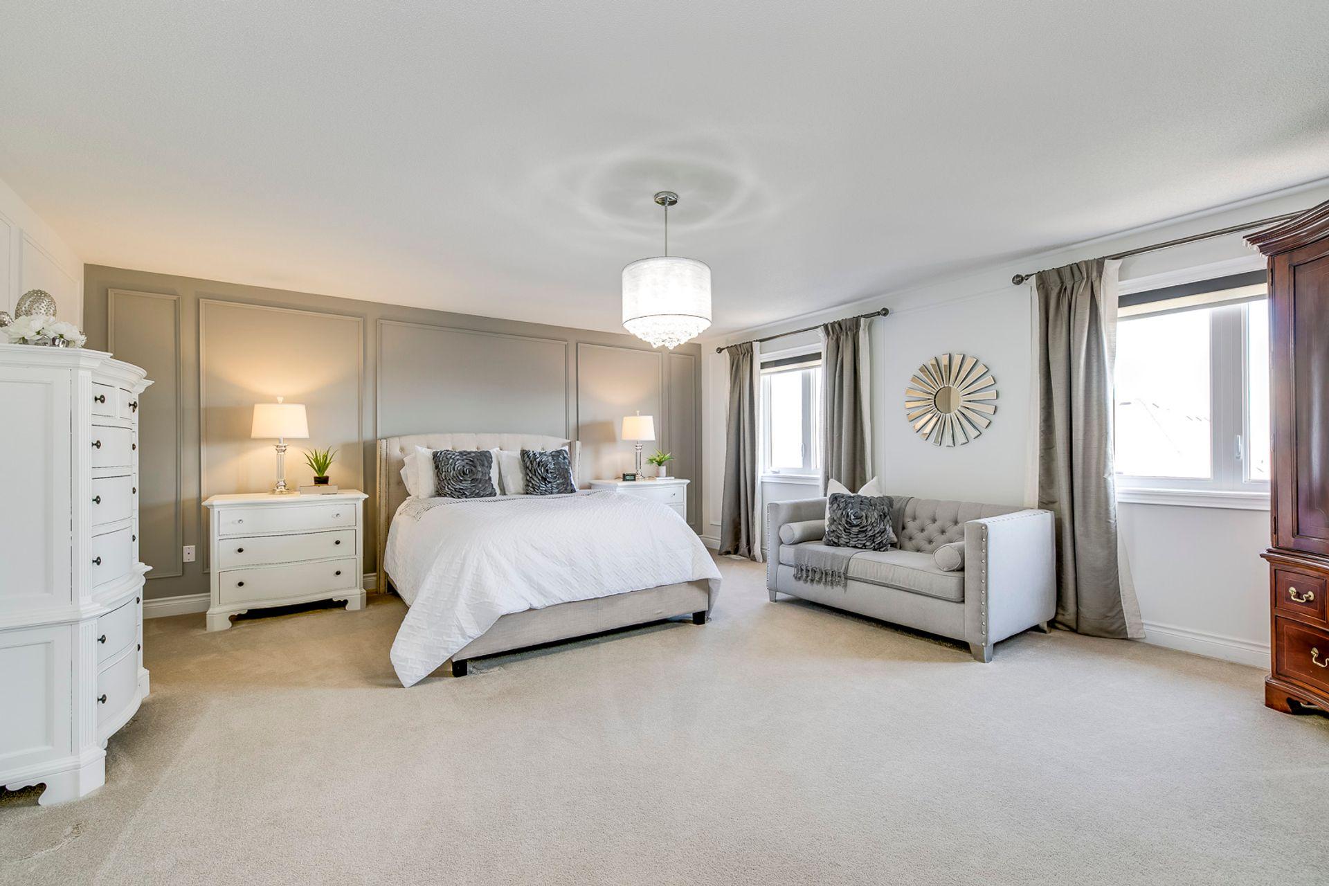 Master Bedroom - 2419 Sylvia Dr, Oakville - Elite3 & Team at 2419 Sylvia Drive, Iroquois Ridge North, Oakville