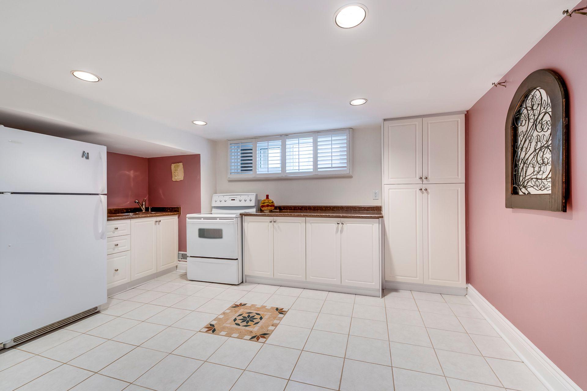 Basement Kitchen - 398 Maple Grove Dr, Oakville - Elite3 & Team at 398 Maple Grove Drive, Eastlake, Oakville