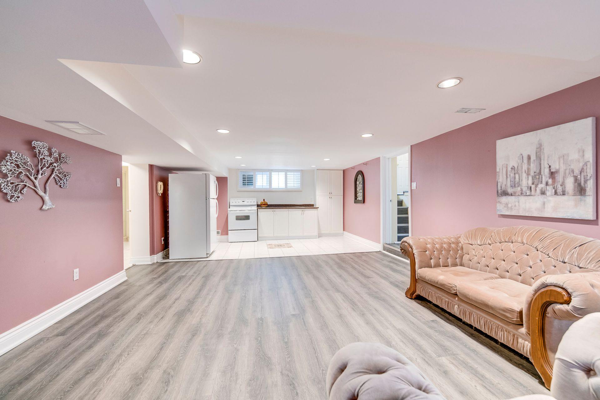 Basement Recreation Room - 398 Maple Grove Dr, Oakville - Elite3 & Team at 398 Maple Grove Drive, Eastlake, Oakville