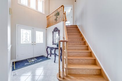 Stairs To Separate Master - 5156 Heatherleigh Ave, Mississauga - Elite3 & Team at 5156 Heatherleigh Avenue, East Credit, Mississauga