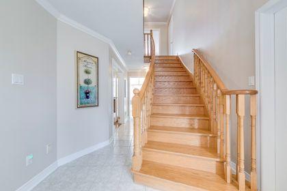Stairs To 2nd Floor - 5156 Heatherleigh Ave, Mississauga - Elite3 & Team at 5156 Heatherleigh Avenue, East Credit, Mississauga