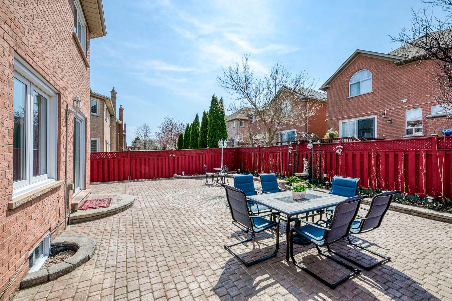 Backyard - 5156 Heatherleigh Ave, Mississauga - Elite3 & Team at 5156 Heatherleigh Avenue, East Credit, Mississauga