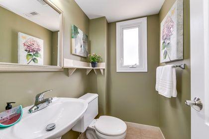 Powder Room at 7 - 840 Dundas Street W, Erindale, Mississauga