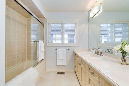 Main Bathroom - 2487 Bon Echo Dr, Oakville - Elite3 & Team at 2487 Bon Echo Drive, Iroquois Ridge North, Oakville