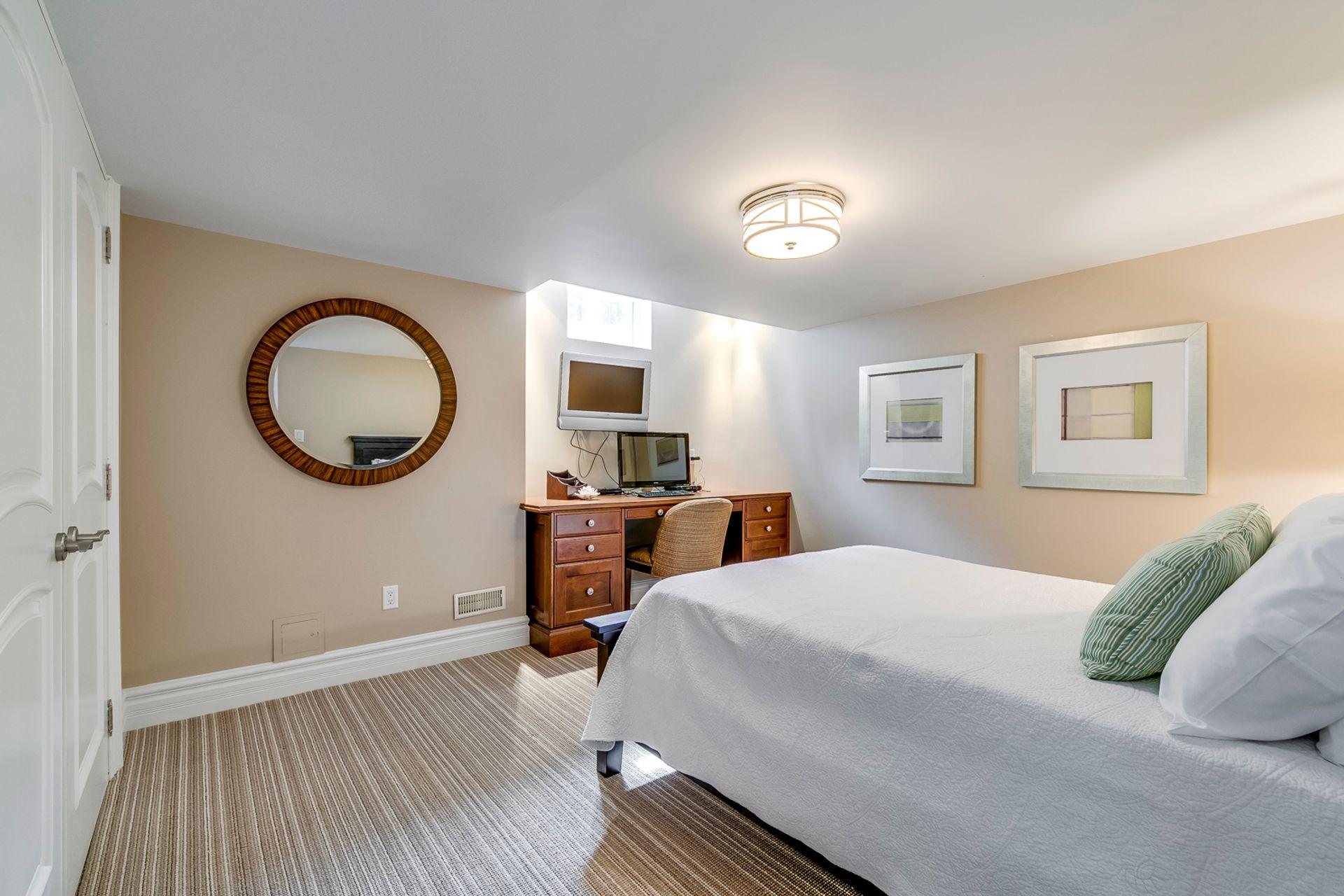 Guest Bedroom - 2487 Bon Echo Dr, Oakville - Elite3 & Team at 2487 Bon Echo Drive, Iroquois Ridge North, Oakville