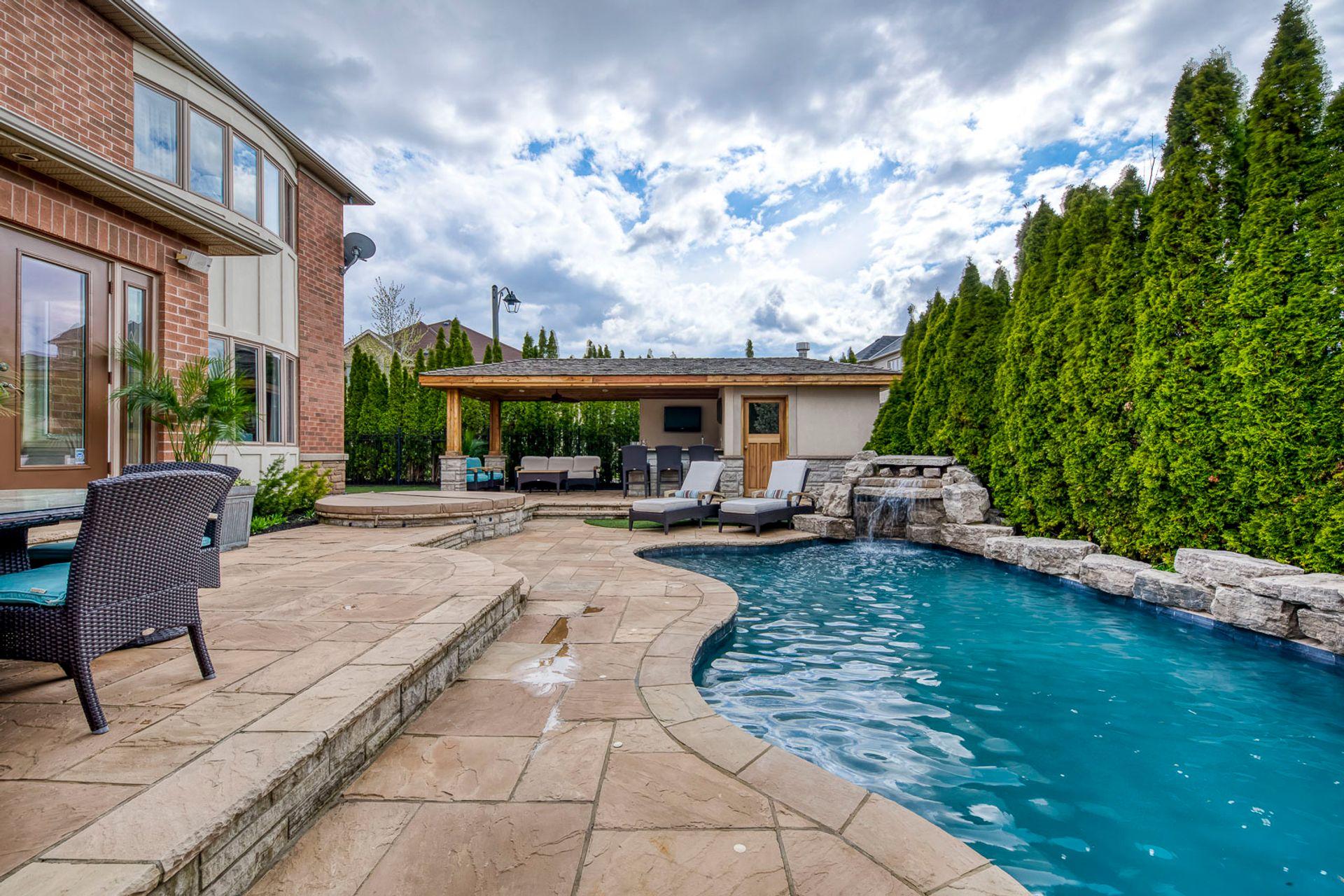 Swimming Pool - 2487 Bon Echo Dr, Oakville - Elite3 & Team at 2487 Bon Echo Drive, Iroquois Ridge North, Oakville