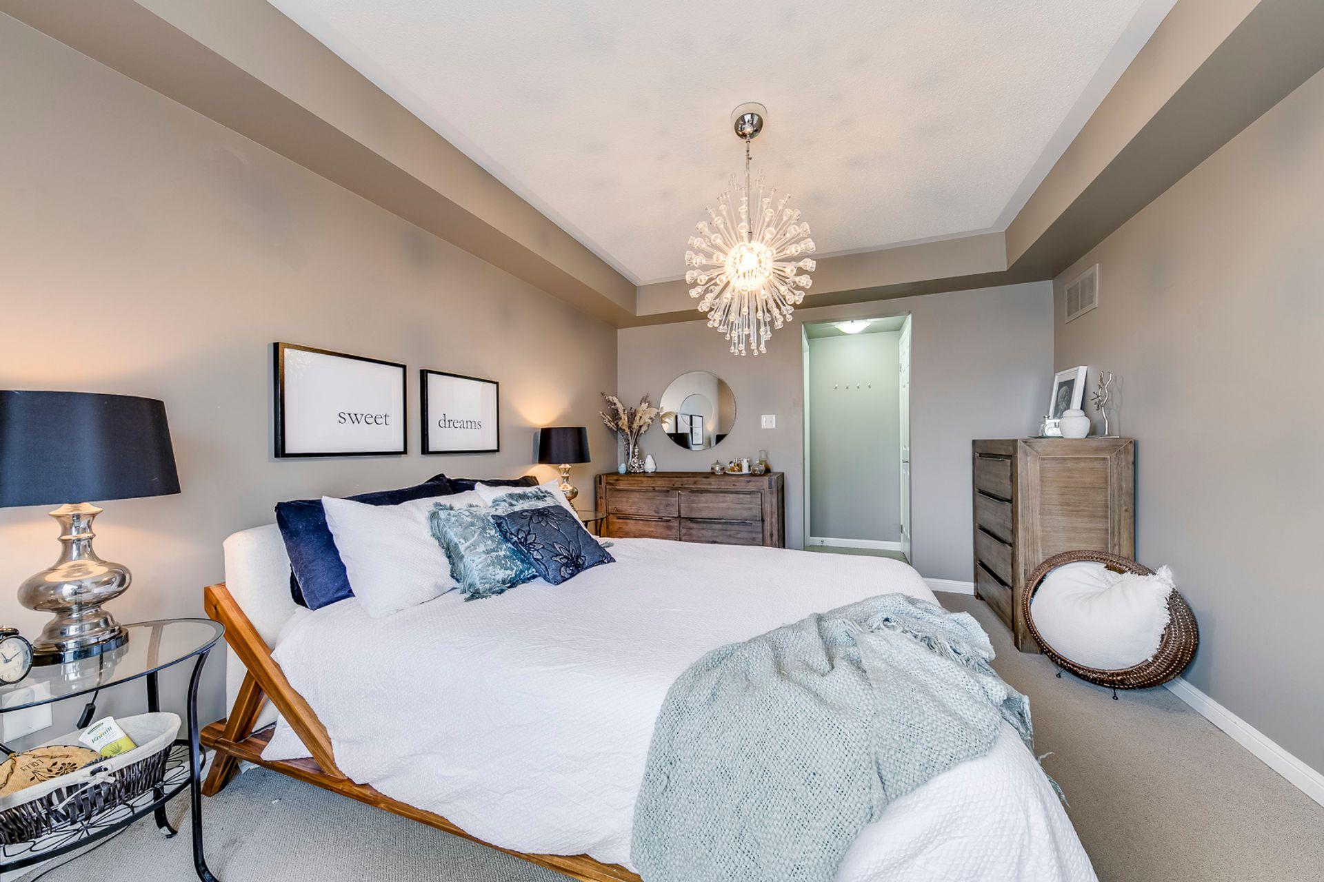 Master Bedroom - 4 - 734 Neighbourhood Circle, Mississauga - Elite3 & Team at 4 - 734 Neighbourhood Circle, Cooksville, Mississauga