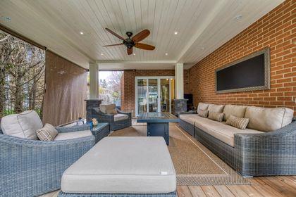 Backyard Porch - 2275 Daffodil Court, Oakville - Elite3 & Team at 2275 Daffodil Court, Eastlake, Oakville