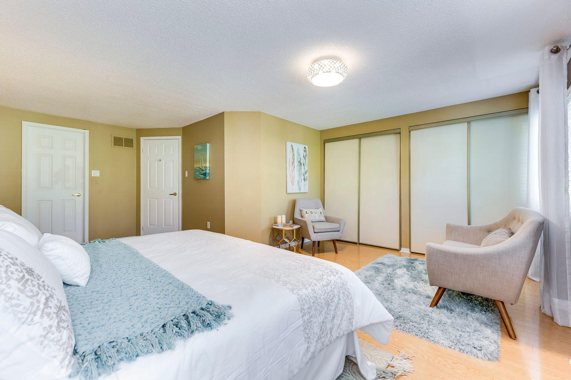 Primary Bedroom - 33 - 4605 Donegal Dr, Mississauga - Elite3 & Team at 33 - 4605 Donegal Drive, Erin Mills, Mississauga
