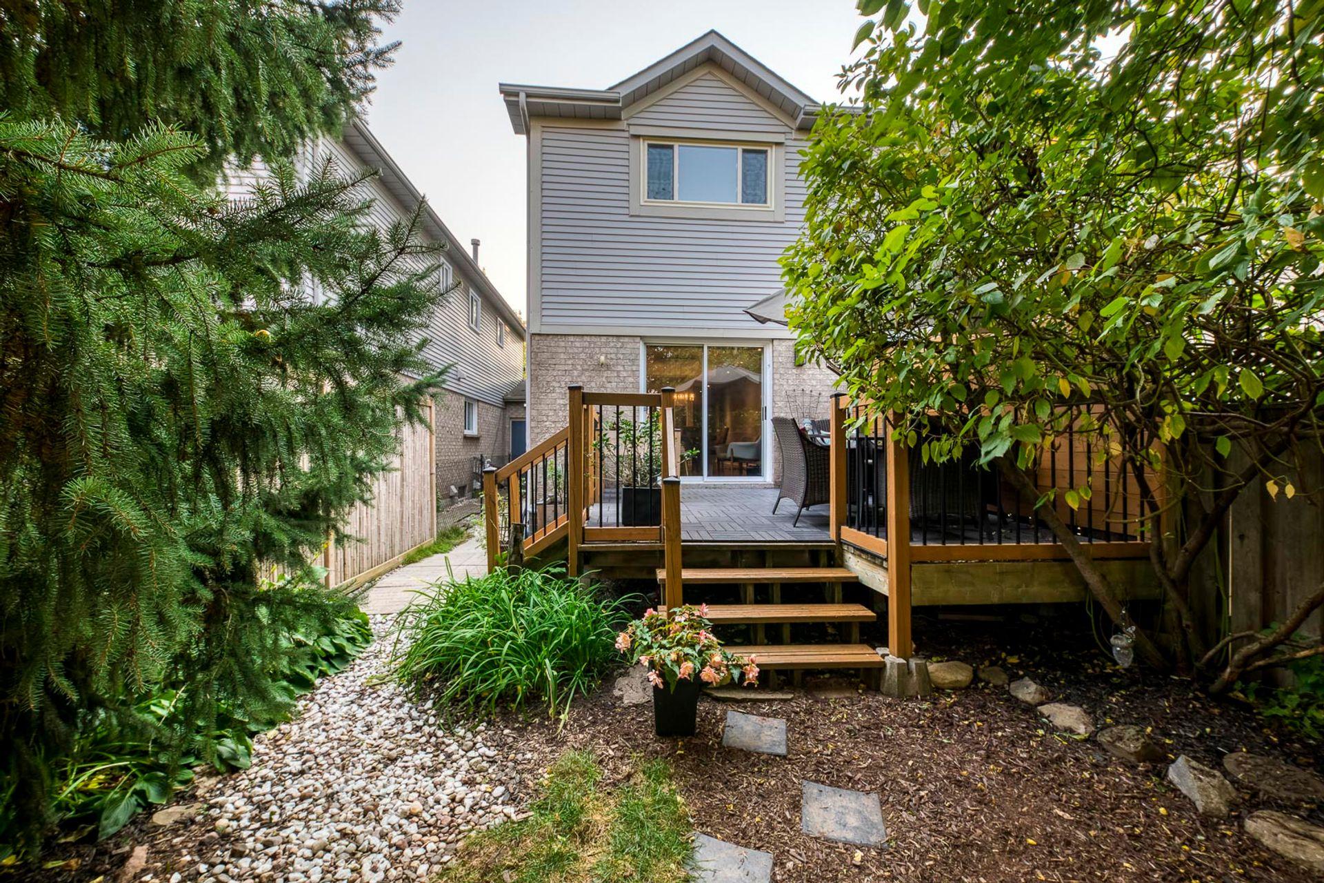 Backyard - 2447 Stefi Trail, Oakville - Elite3 & Team at 2447 Stefi Trail, River Oaks, Oakville