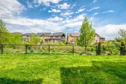 Backyard - 3129 Riverpath Common, Oakville - Elite3 & Team at 3129 Riverpath Common, Rural Oakville, Oakville