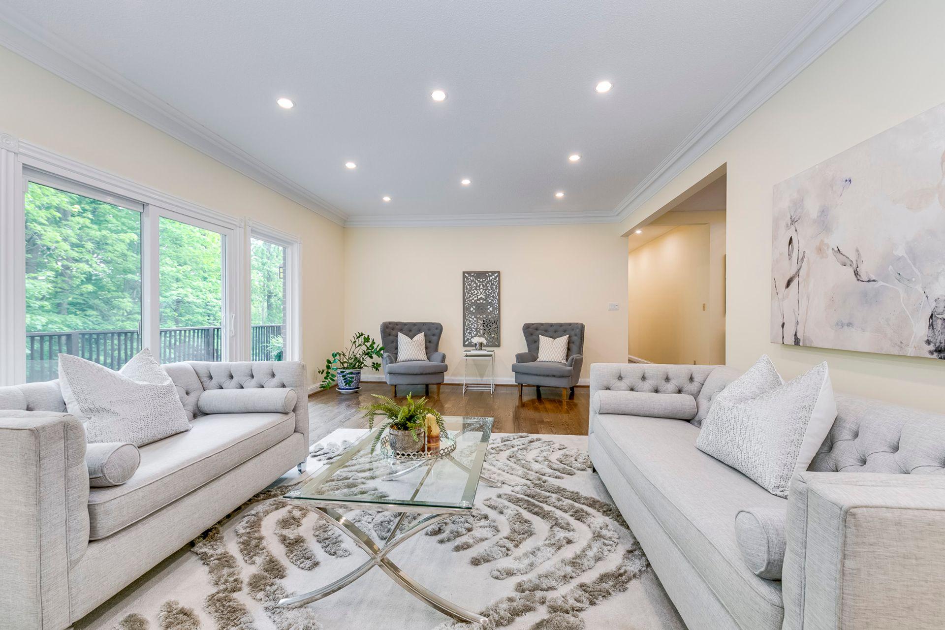 Living Room - 2421 Jarvis St, Mississauga - Elite3 & Team at 2421 Jarvis Street, Airport Corporate, Mississauga