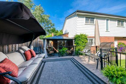 Backyard - 1246 Landfair Cres, Oakville - Elite3 & Team at 1246 Landfair Crescent, Iroquois Ridge South, Oakville